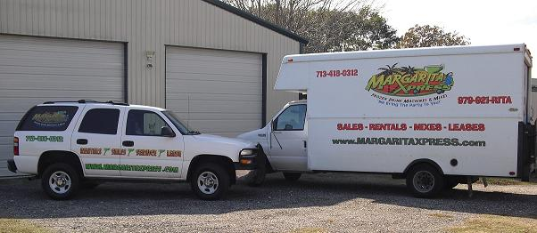 MARGARITA MACHINE DELIVERY VEHICLES